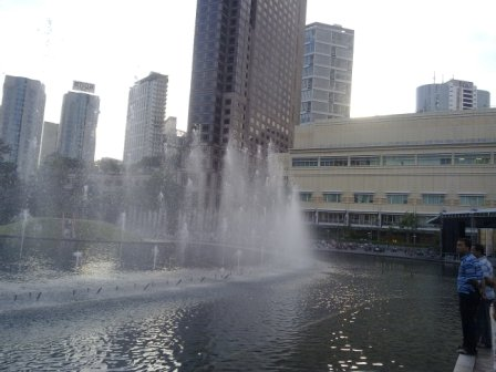 KLCC Fountain