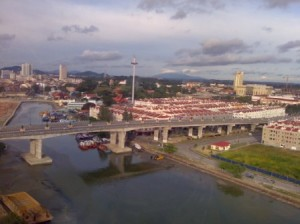 Panaromic View.Eye On Melaka
